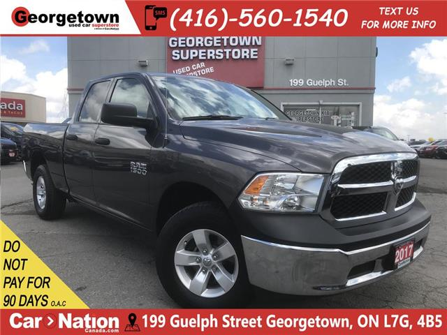 2017 RAM 1500 SXT   3.6L  4X4   6'4 BOX   36K BU CAM  SAT RADIO (Stk: P12140) in Georgetown - Image 1 of 26