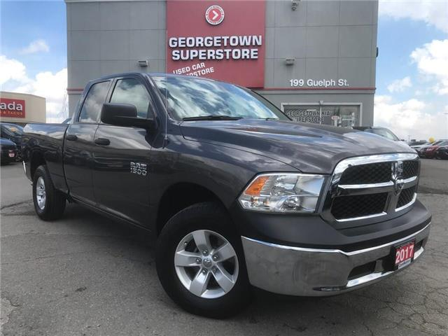 2017 RAM 1500 SXT   3.6L  4X4   6'4 BOX   36K BU CAM  SAT RADIO (Stk: P12140) in Georgetown - Image 2 of 26