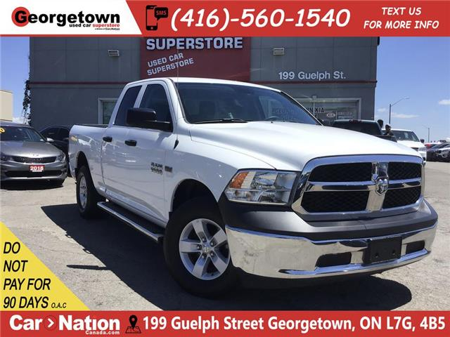 2017 RAM 1500 SXT   5.7L  4X4   6'4 BOX   46K PWR GRP  SAT RADIO (Stk: P12165) in Georgetown - Image 1 of 24