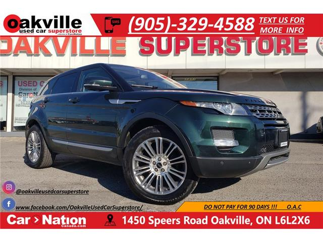 2012 Land Rover Range Rover Evoque PURE PLUS | PANO ROOF | HTD SEATS | NAVI | LEATHER (Stk: P12259) in Oakville - Image 1 of 22