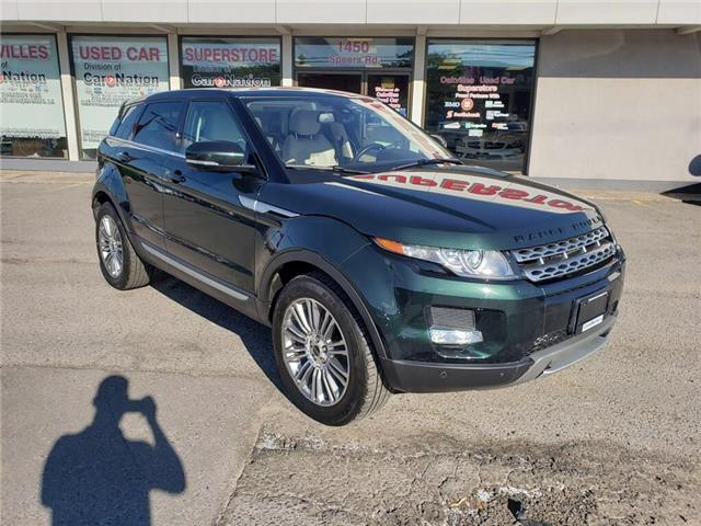 2012 Land Rover Range Rover Evoque PURE PLUS | PANO ROOF | HTD SEATS | NAVI | LEATHER (Stk: P12259) in Oakville - Image 2 of 22