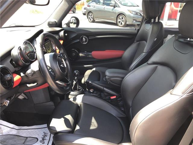 2015 MINI Cooper Hardtop Leather,Roof,Alloys,Low Mileage! (Stk: M19Q068A) in Maple - Image 10 of 23