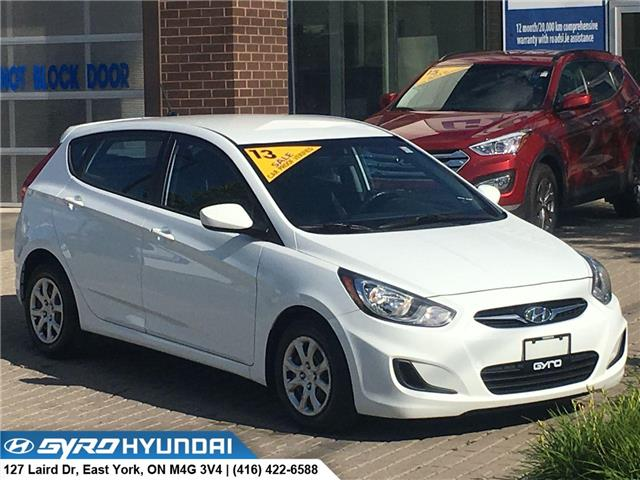 2013 Hyundai Accent GL (Stk: H4771A) in Toronto - Image 1 of 27