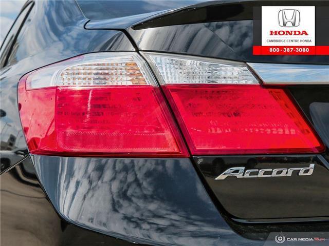 2015 Honda Accord Sport (Stk: 19899A) in Cambridge - Image 12 of 27