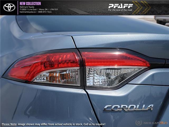 2020 Toyota Corolla 4-door Sedan L CVT (Stk: H20078) in Orangeville - Image 11 of 24