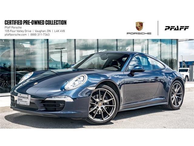 2015 Porsche 911 Carrera 4 Coupe PDK (Stk: U7956A) in Vaughan - Image 1 of 22