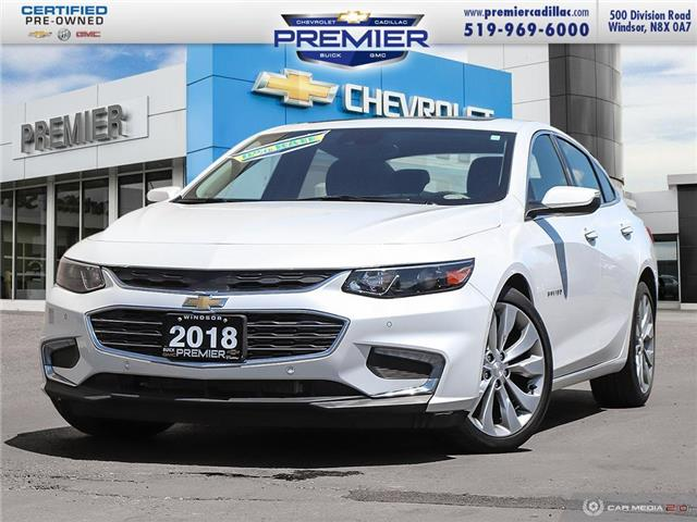2018 Chevrolet Malibu Premier (Stk: P19154) in Windsor - Image 1 of 29