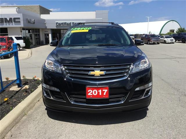 2017 Chevrolet Traverse 2LT (Stk: K161A) in Grimsby - Image 2 of 16
