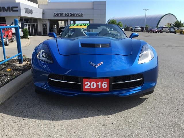 2016 Chevrolet Corvette Stingray Z51 (Stk: K422A) in Grimsby - Image 2 of 15