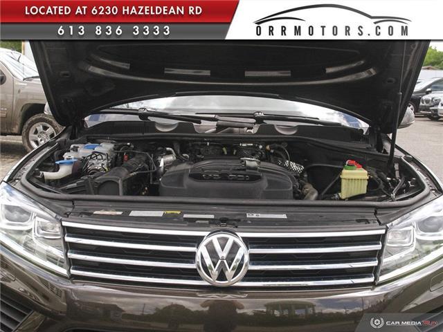 2017 Volkswagen Touareg 3.6L Sportline (Stk: 5826T) in Stittsville - Image 7 of 29