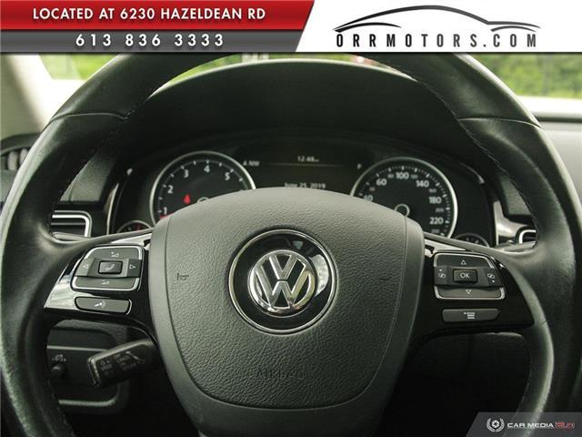 2017 Volkswagen Touareg 3.6L Sportline (Stk: 5826T) in Stittsville - Image 14 of 29