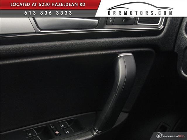 2017 Volkswagen Touareg 3.6L Sportline (Stk: 5826T) in Stittsville - Image 17 of 29