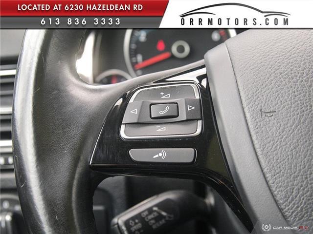 2017 Volkswagen Touareg 3.6L Sportline (Stk: 5826T) in Stittsville - Image 18 of 29