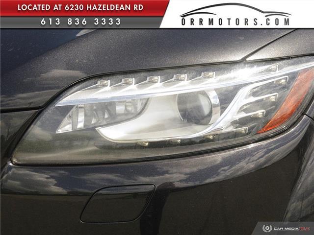 2013 Audi Q7 3.0 TDI (Stk: 5777) in Stittsville - Image 9 of 28
