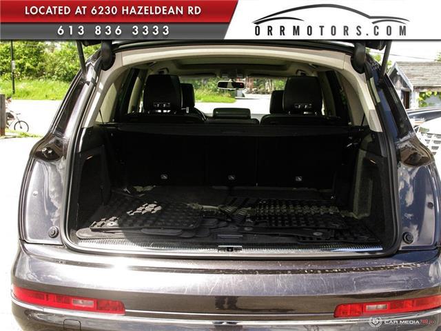2013 Audi Q7 3.0 TDI (Stk: 5777) in Stittsville - Image 10 of 28