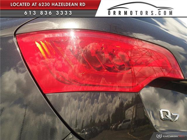 2013 Audi Q7 3.0 TDI (Stk: 5777) in Stittsville - Image 11 of 28
