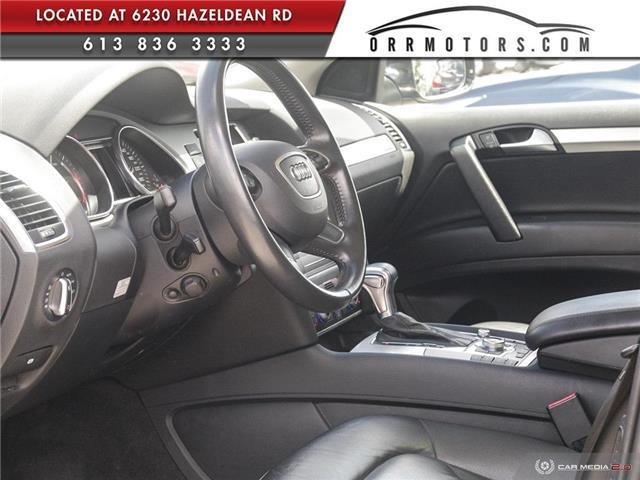 2013 Audi Q7 3.0 TDI (Stk: 5777) in Stittsville - Image 12 of 28