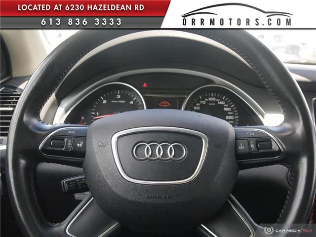 2013 Audi Q7 3.0 TDI (Stk: 5777) in Stittsville - Image 13 of 28