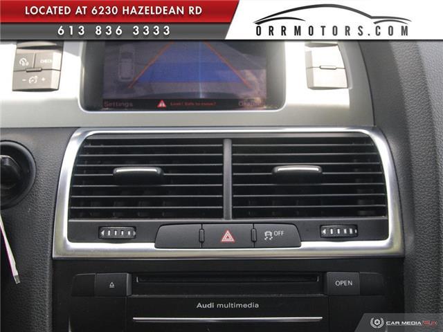 2013 Audi Q7 3.0 TDI (Stk: 5777) in Stittsville - Image 19 of 28