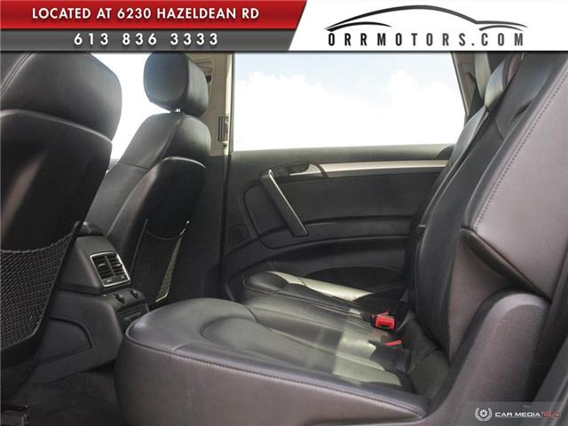 2013 Audi Q7 3.0 TDI (Stk: 5777) in Stittsville - Image 22 of 28