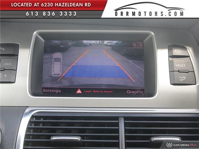 2013 Audi Q7 3.0 TDI (Stk: 5777) in Stittsville - Image 24 of 28