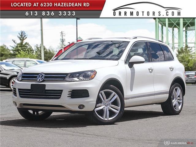 2012 Volkswagen Touareg 3.0 TDI Execline (Stk: 5815) in Stittsville - Image 1 of 28