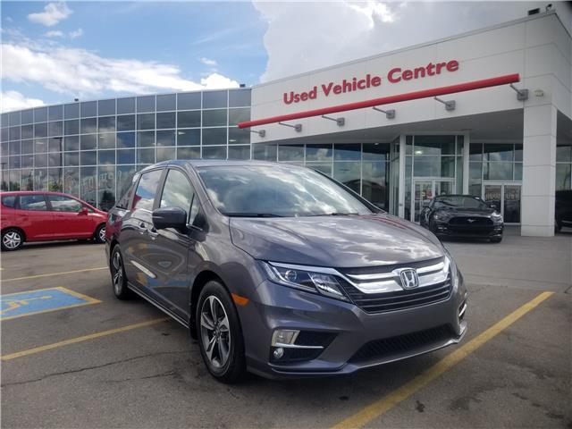 2018 Honda Odyssey EX-L (Stk: U194231) in Calgary - Image 1 of 30