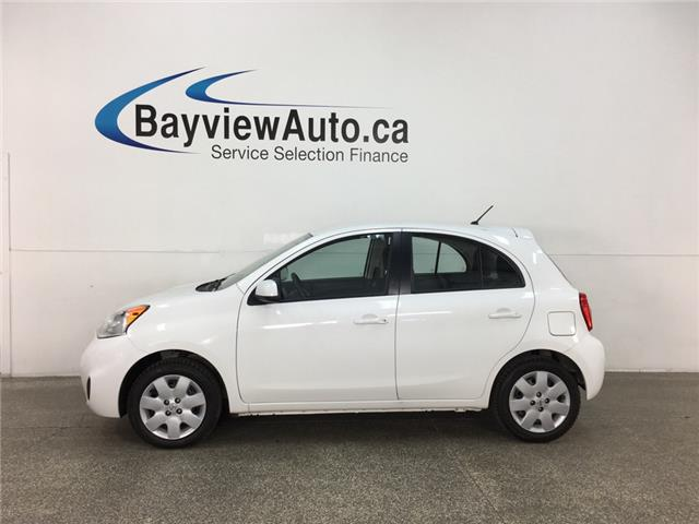 2017 Nissan Micra S (Stk: 35029J) in Belleville - Image 1 of 24