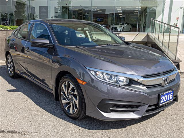 2016 Honda Civic EX (Stk: 28374A) in Markham - Image 1 of 25