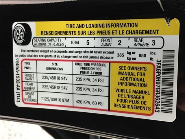 2016 Ford Fusion SE (Stk: 35089J) in Belleville - Image 25 of 28