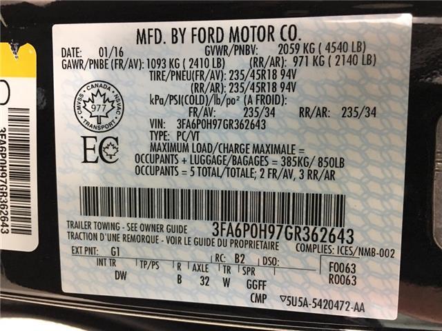 2016 Ford Fusion SE (Stk: 35089J) in Belleville - Image 24 of 28