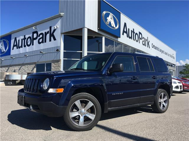 2016 Jeep Patriot Sport/North (Stk: 16-44320JB) in Barrie - Image 1 of 24