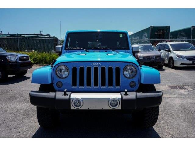2017 Jeep Wrangler Unlimited Sahara (Stk: SK574A) in Gloucester - Image 18 of 20