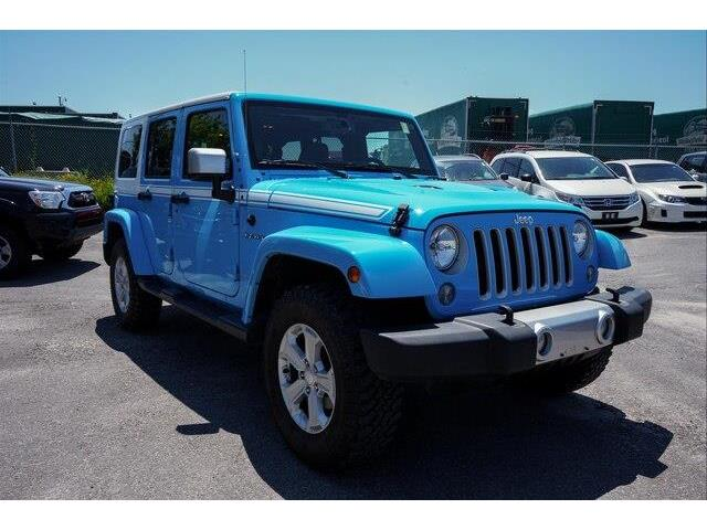 2017 Jeep Wrangler Unlimited Sahara (Stk: SK574A) in Gloucester - Image 7 of 20
