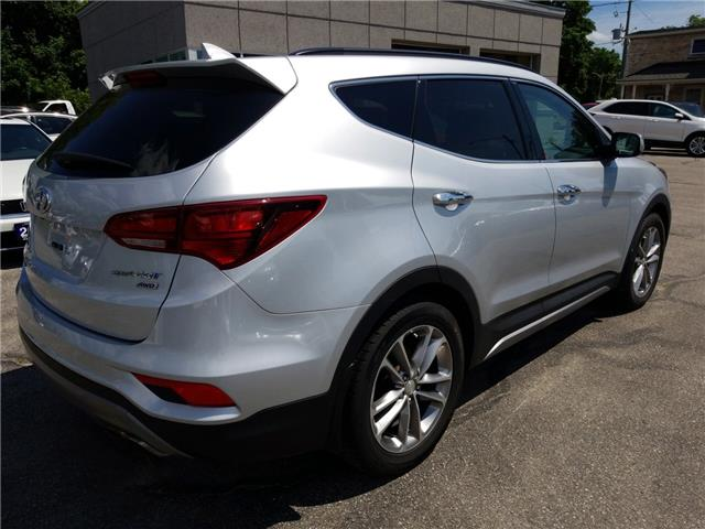 2017 Hyundai Santa Fe Sport 2.0T Limited (Stk: 389411) in Cambridge - Image 5 of 25
