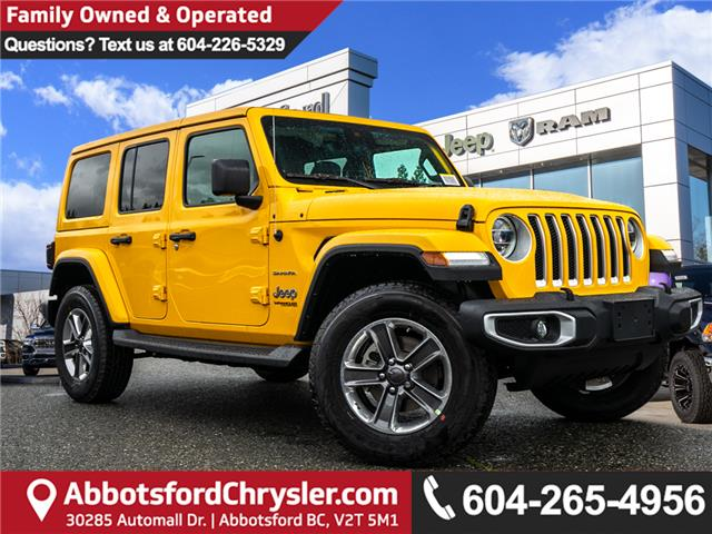 2019 Jeep Wrangler Unlimited Sahara (Stk: K628814) in Abbotsford - Image 1 of 24