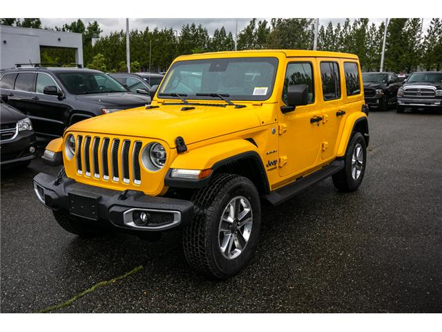2019 Jeep Wrangler Unlimited Sahara (Stk: K628814) in Abbotsford - Image 3 of 23