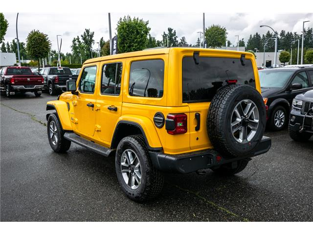 2019 Jeep Wrangler Unlimited Sahara (Stk: K628814) in Abbotsford - Image 5 of 23