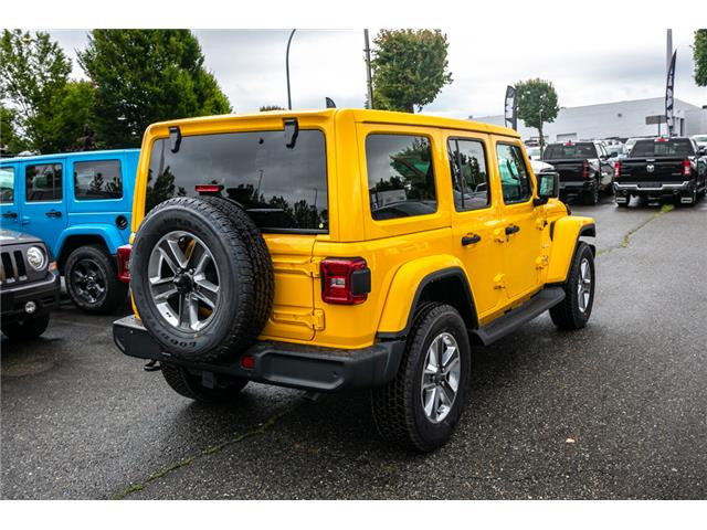 2019 Jeep Wrangler Unlimited Sahara (Stk: K628814) in Abbotsford - Image 7 of 23