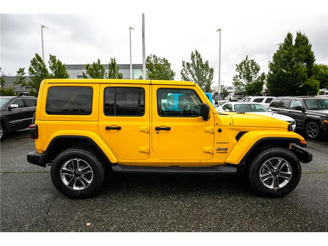 2019 Jeep Wrangler Unlimited Sahara (Stk: K628814) in Abbotsford - Image 8 of 23