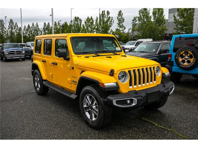 2019 Jeep Wrangler Unlimited Sahara (Stk: K628814) in Abbotsford - Image 9 of 23