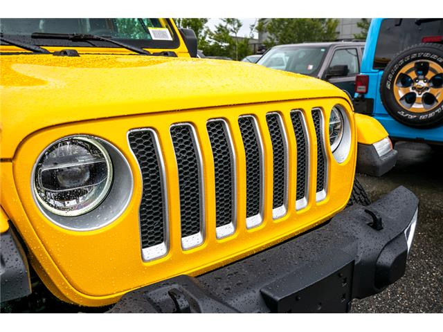 2019 Jeep Wrangler Unlimited Sahara (Stk: K628814) in Abbotsford - Image 10 of 23