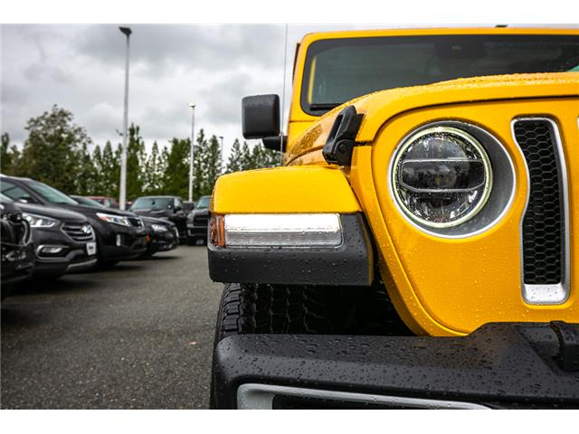 2019 Jeep Wrangler Unlimited Sahara (Stk: K628814) in Abbotsford - Image 11 of 23