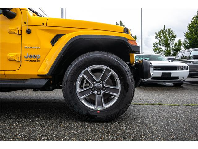 2019 Jeep Wrangler Unlimited Sahara (Stk: K628814) in Abbotsford - Image 12 of 23