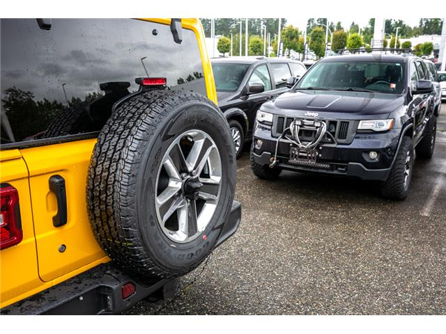 2019 Jeep Wrangler Unlimited Sahara (Stk: K628814) in Abbotsford - Image 13 of 23