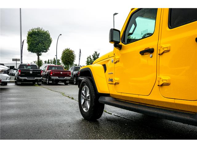 2019 Jeep Wrangler Unlimited Sahara (Stk: K628814) in Abbotsford - Image 14 of 23