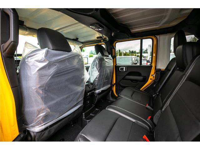 2019 Jeep Wrangler Unlimited Sahara (Stk: K628814) in Abbotsford - Image 15 of 23