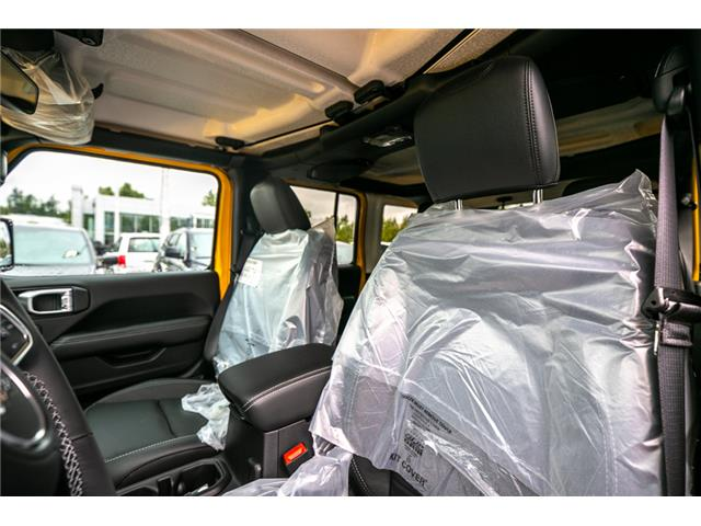 2019 Jeep Wrangler Unlimited Sahara (Stk: K628814) in Abbotsford - Image 20 of 23