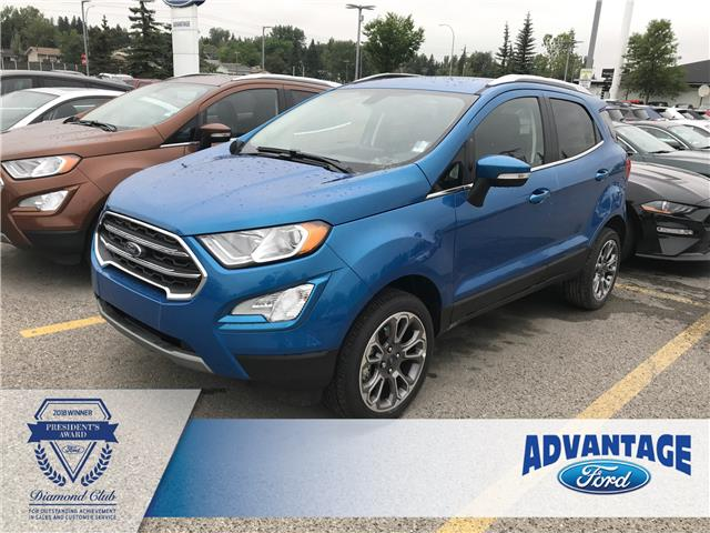2019 Ford EcoSport Titanium (Stk: K-467) in Calgary - Image 1 of 5