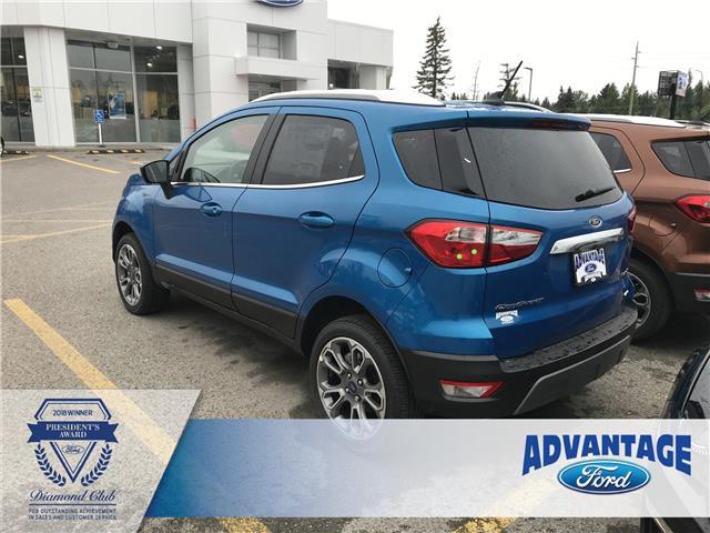 2019 Ford EcoSport Titanium (Stk: K-467) in Calgary - Image 3 of 5